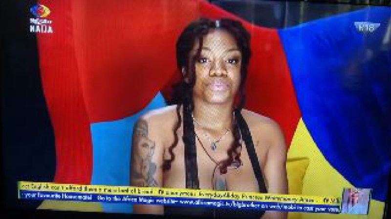 BBNaija's Angel shares her chat with Adekunle Gold (Screenshot)