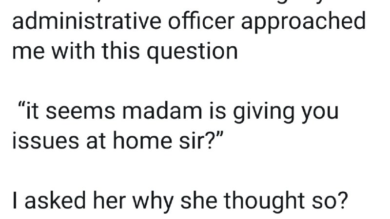 A General Manager reveals question he got from his admin officer after he fixed a meeting for 6am