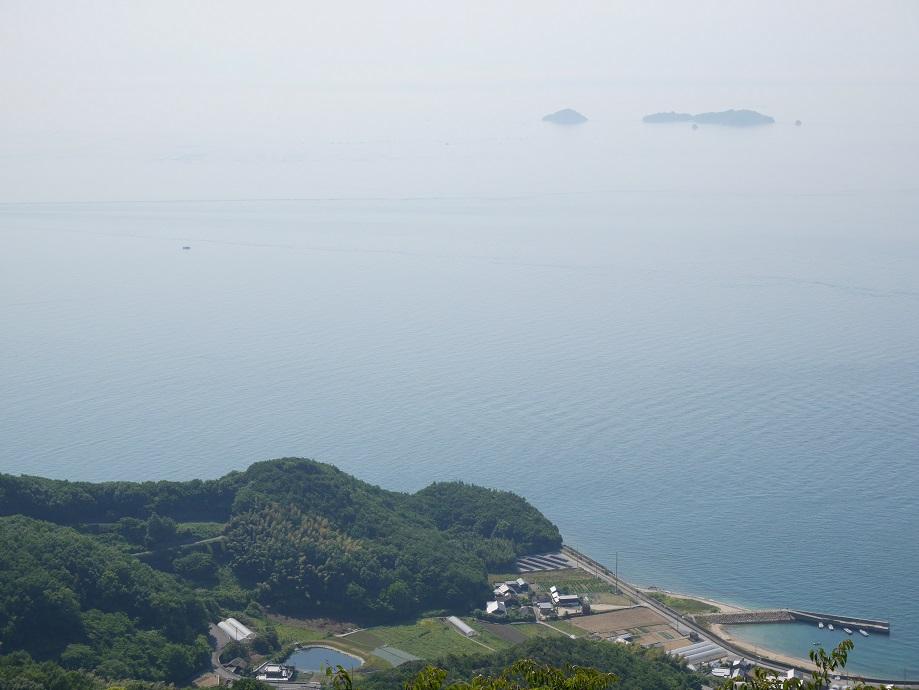 亀老山展望公園(愛媛県今治市吉海町)から瀬戸内海を撮影した写真。