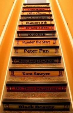 Escaliers livres // Un Air d'Intérieur Blog déco & DIY unairdinterieur.wordpress.com