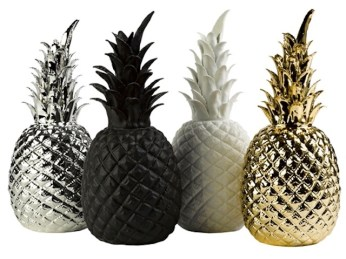 Ananas en porcelaine