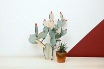 Cactus en bois à peindre