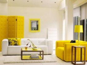 Paroi jaune