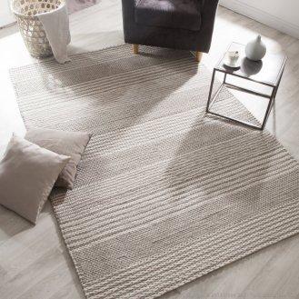 Un tapis texturé