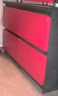 Tables de chevet Malm peinte