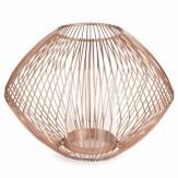 Lanterne en métal LULEA COPPER, 16,99€