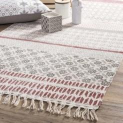 Un tapis tout en légèreté