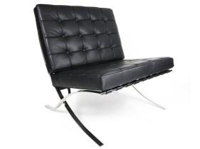 Un fauteuil en cuir