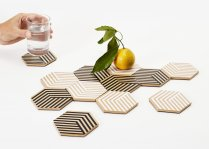 Table Tiles Optic