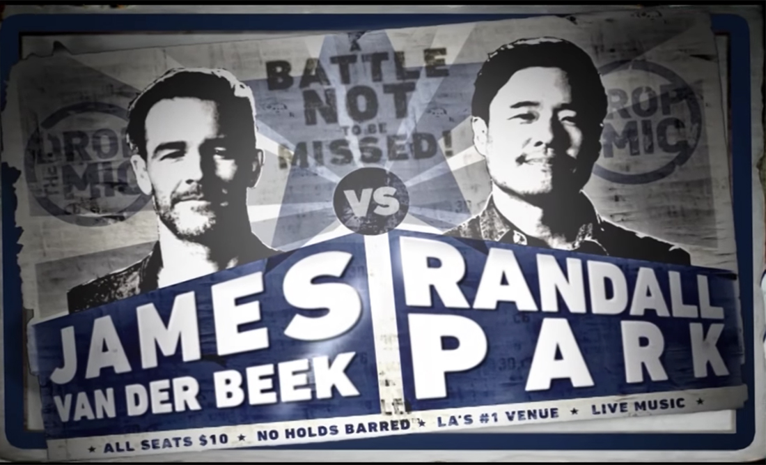 Watch Randall Park from Off the Boat Out-Rap James Van Der Beek on Drop the Mic