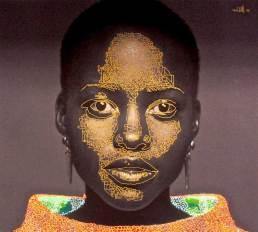 30″ H x 20″ W. Acrylic on canvas. 2014.