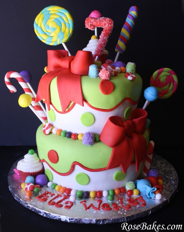 Happy Birthday Pictures Christmas Tree Cake