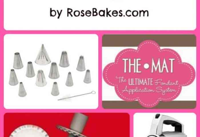 26 Favorite Things A List Of Cake Baking Tools Decorating