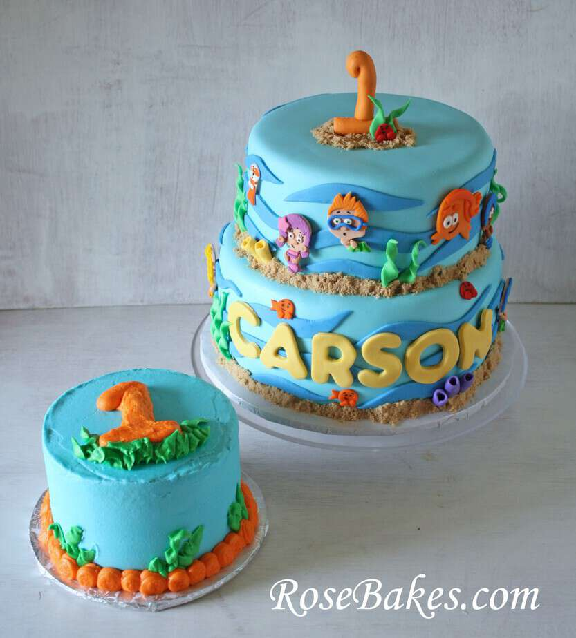 Bubble Guppies Birthday Amp Smash Cake