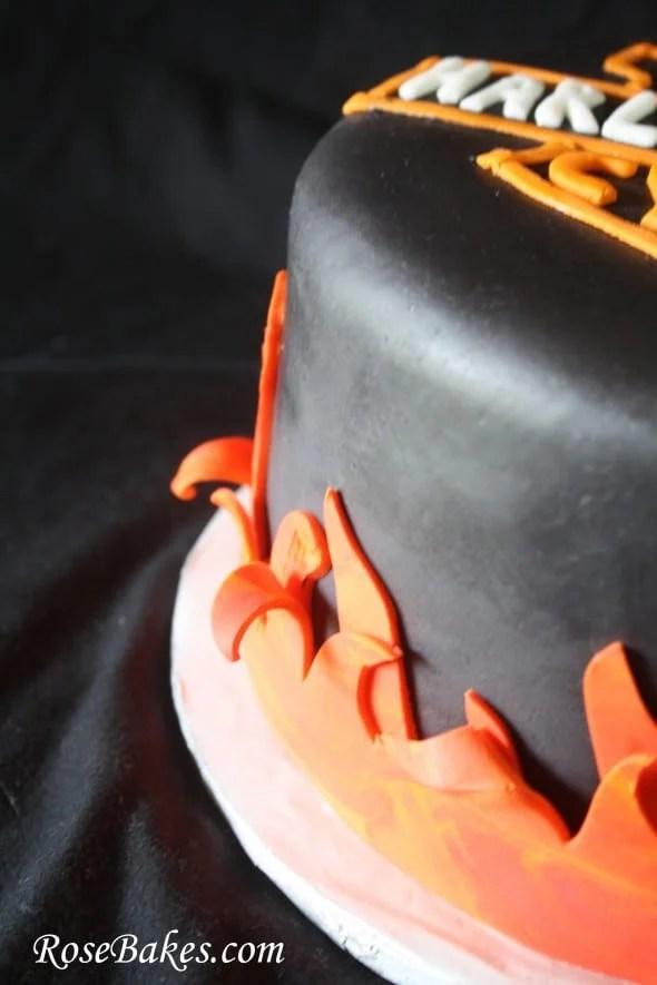 Harley Davidson Birthday Cake