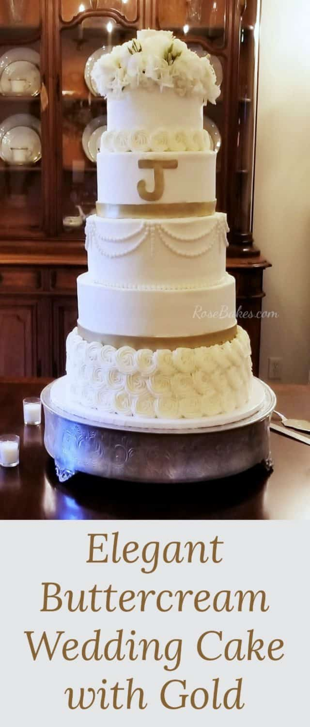 The 6 tier buttercream wedding cake that wasn t meant to be    Rose     Now I m anxiously planning for one last huge wedding cake on the books   next weekend   Then I can get busy with this kitchen remodel
