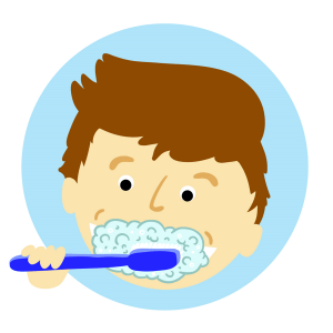brushing teeth, tooth, dental