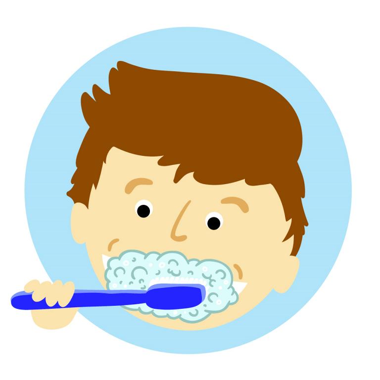 brushing teeth, tooth, dental