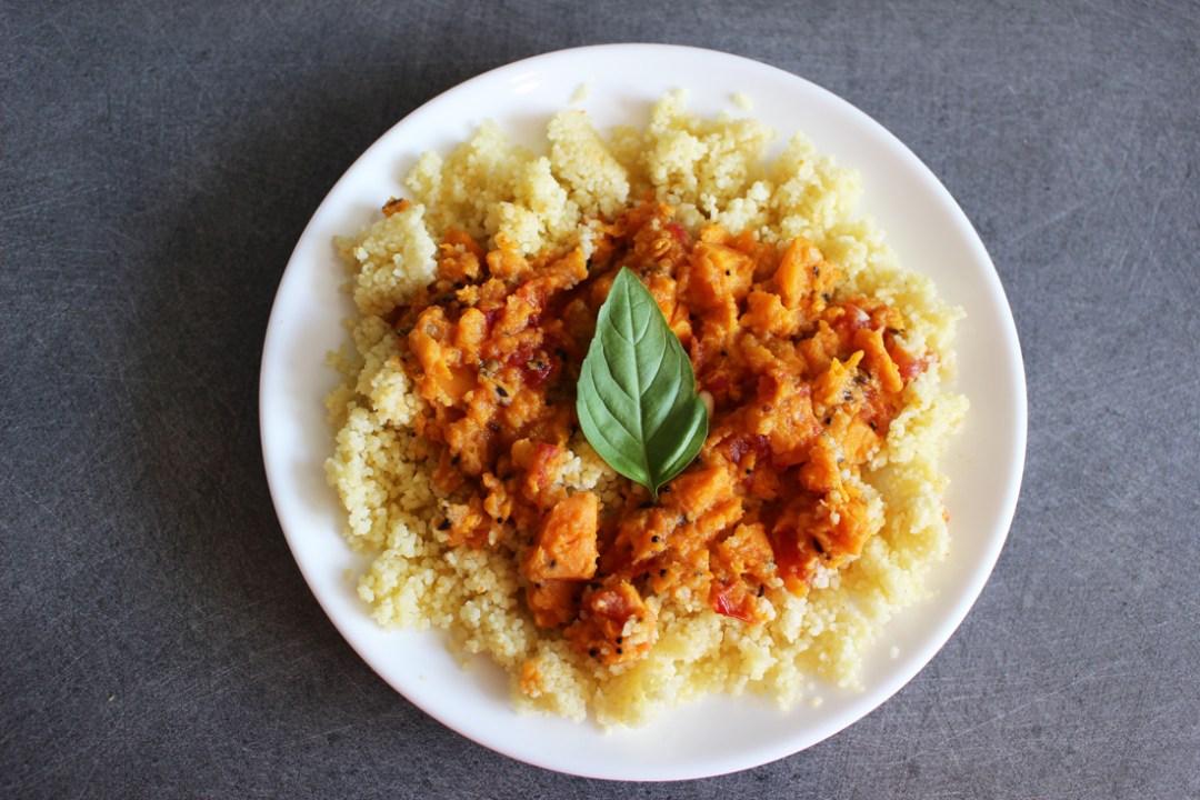 Curry de patate douce