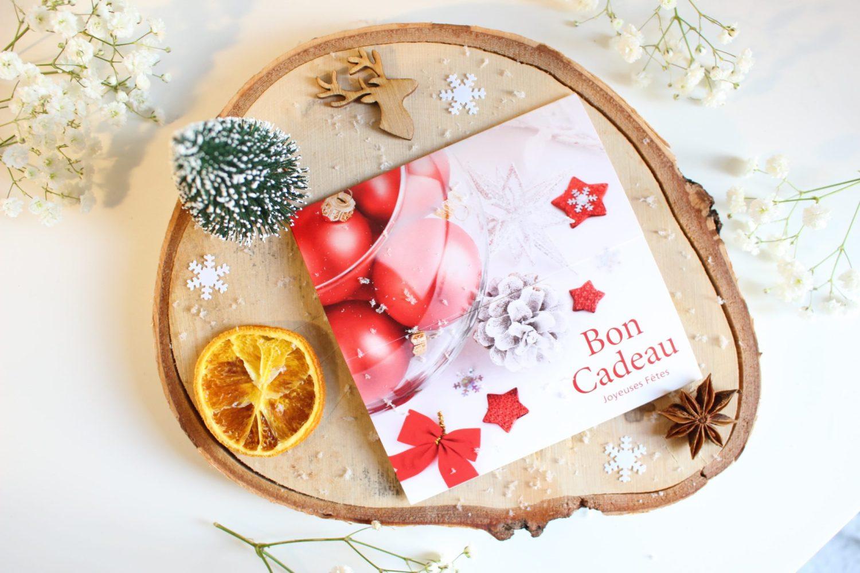Carte cadeaux Noel code promo