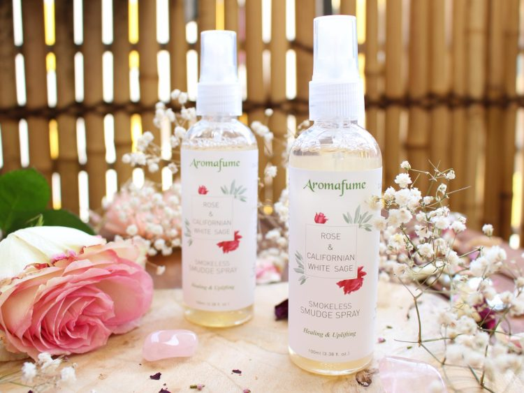 Spray purifiant Sauge Blanche de Californie & Rose