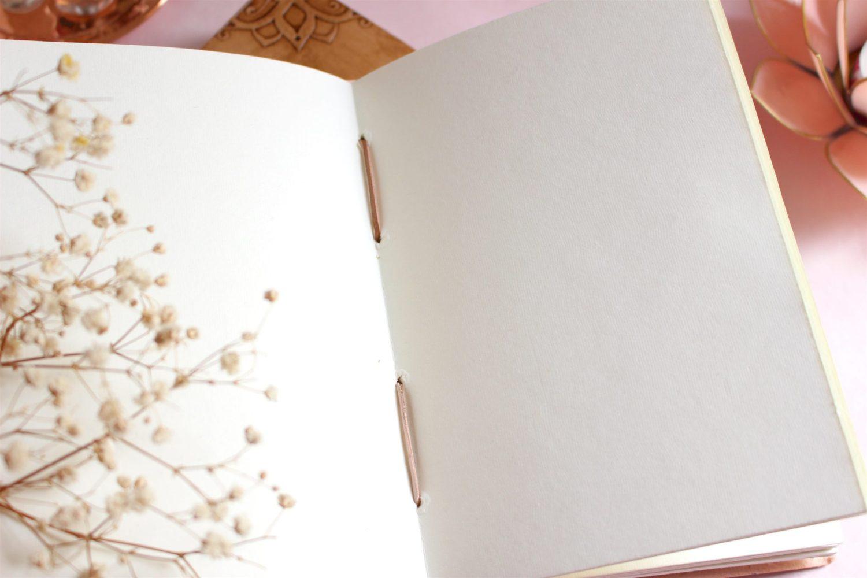Carnet Fleur de vie en papier recyclé