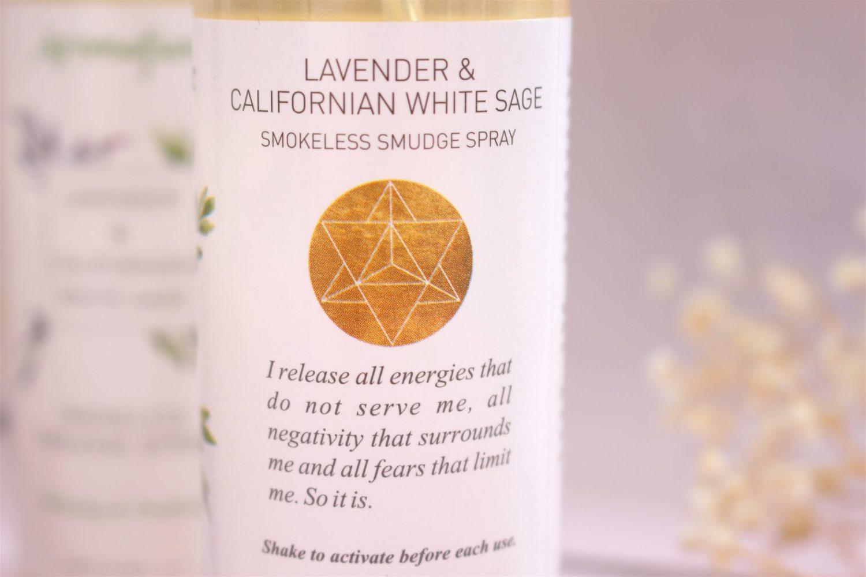 Spray purifiant Sauge Blanche de Californie & Lavande