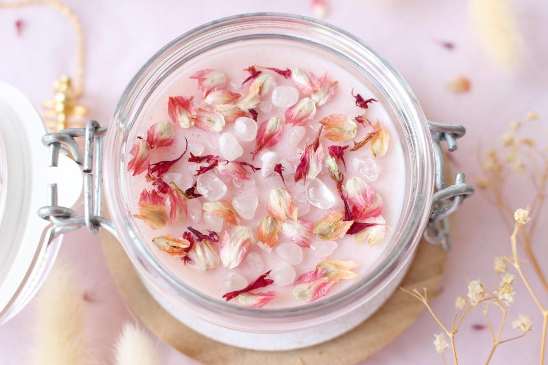 Bougie SELF LOVE 150 ml quartz rose