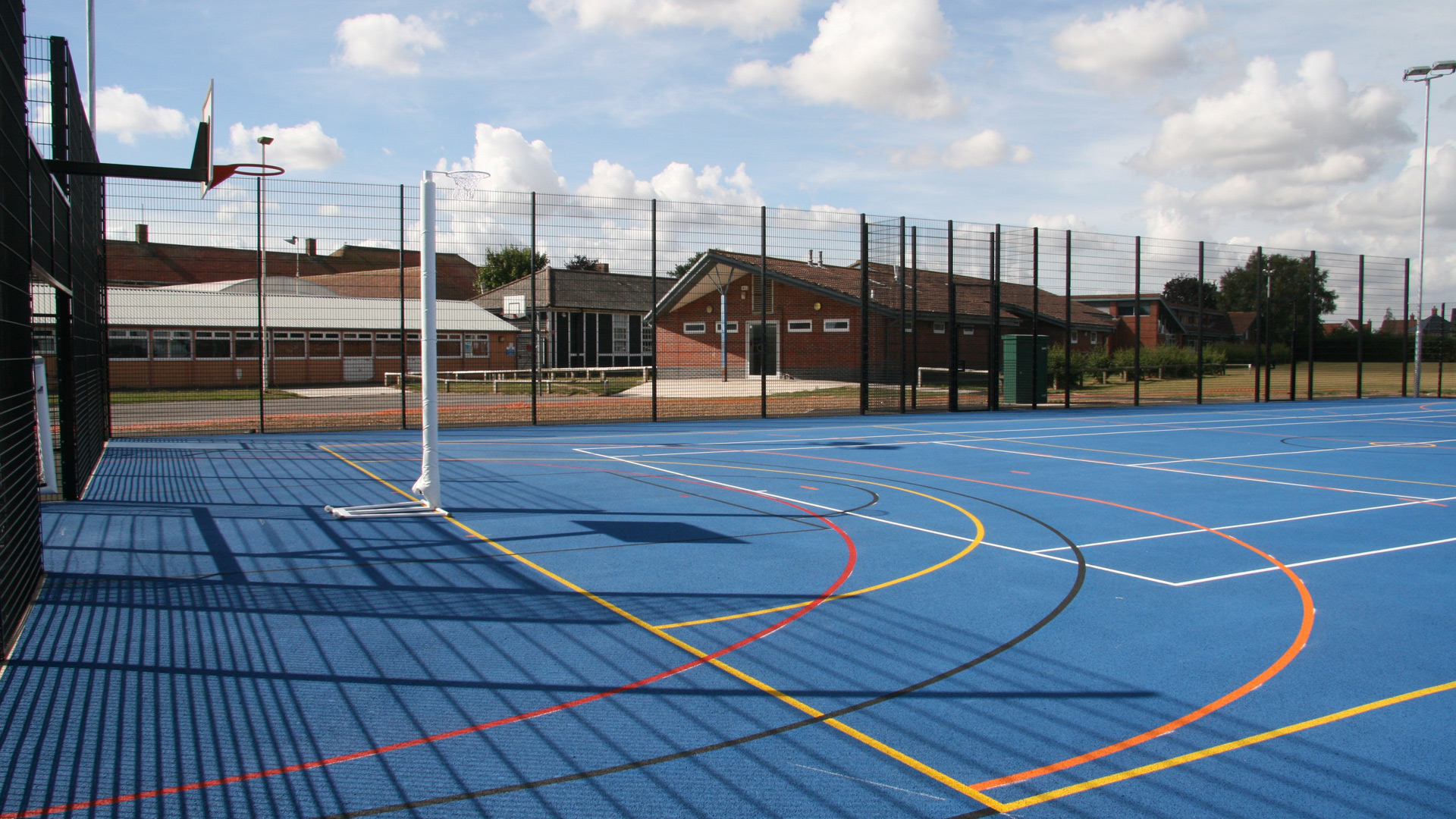 Manningtree High School Multi Use Games Area Muga