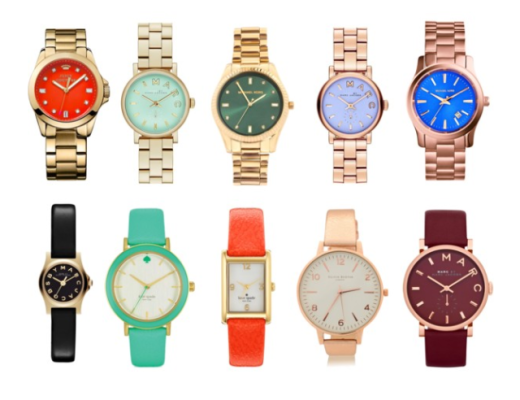 colourful designer watch, designer watchm