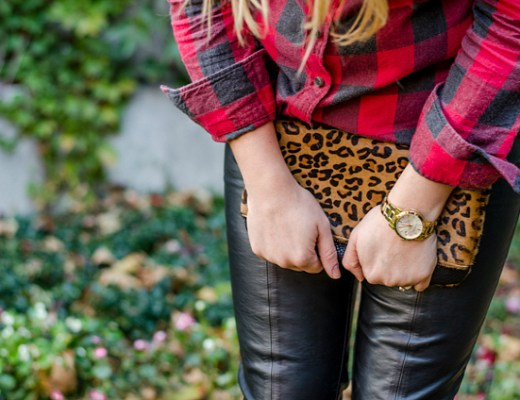 rose-city-style-guide-fall-outfit-plaid-shirt-leopard-clutch-fashion-blog-lifestyle-blog-canadian6