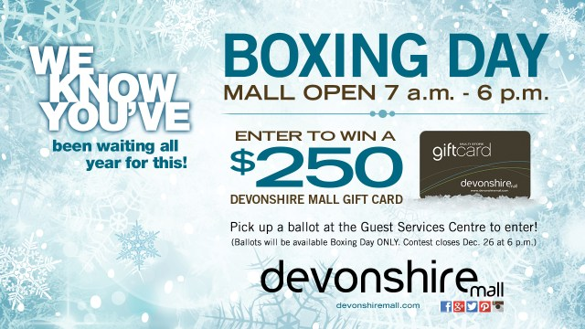 devonshire-mall-boxing-day-contest-giveaway