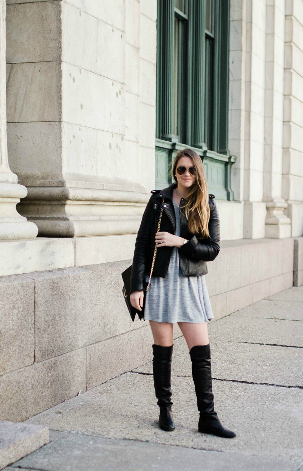 leather-jacket-over-the-knee-boots-ray-ban-canadian-blogger-style-fashion-outfit-rosecitystyleguide