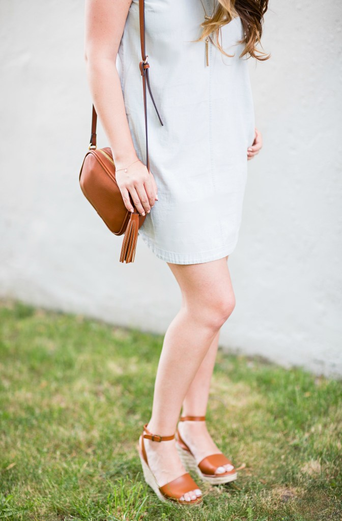summer-sun-dress-chambray-old-navy-crossbody-round-sunglasses-wedges-rosecitystyleguide-canadian-blogger-6