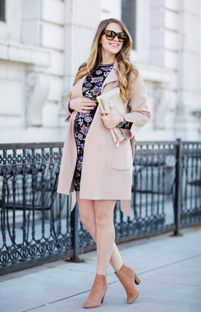 marc-cain-dress-wrap-coat-maternity-outfit-pregnancy-fall-rose-city-style-guide-2