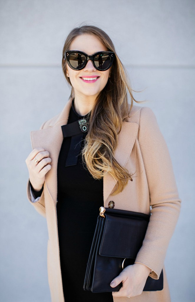 marc-cain-bow-dress-camel-coat-celine-caty-sunglasses-maternity-style-pregnancy-outfit-rosecitystyleguide-2