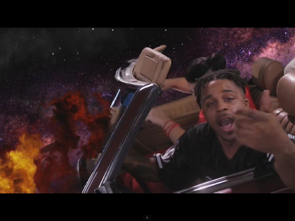 "Azizi Gibson ""Smoking With The Gods"" Video"