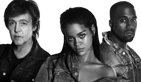 "Rihanna – ""FourFiveSeconds"" Music Video"