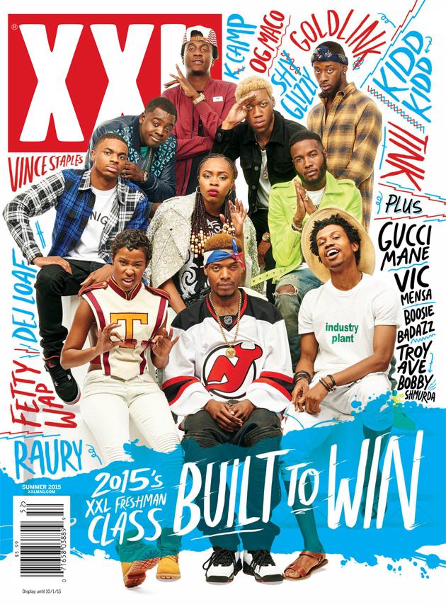 2015 XXL Freshman List Cover Revealed