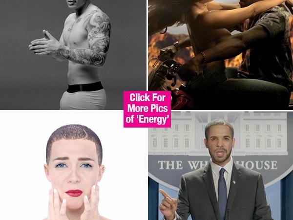 """Drake's Strangely Entertaining """"Energy"""" Video"""