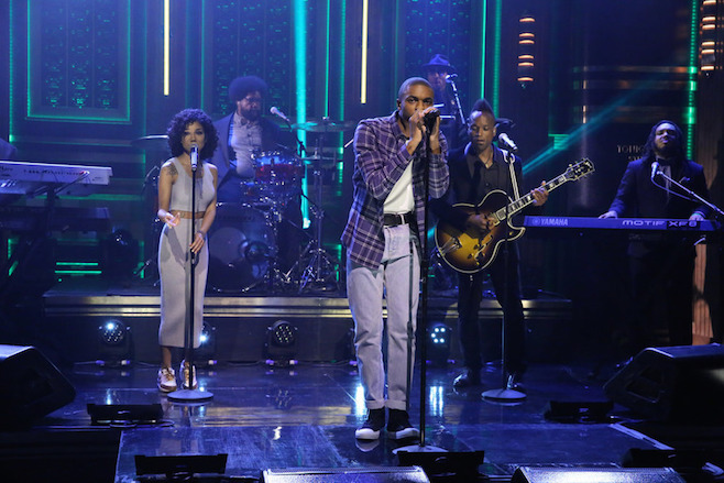 Vince Staples & Jhené Aiko on The Tonight Show