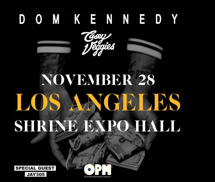Dom Kennedy, Casey Veggies & Jay 305 Live in LA!