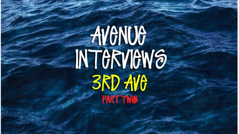 Avenue Interviews 3rd Ave Part Two by Vic Stunts