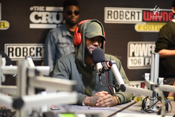 Bryson Tiller on The Cruz Show (Audio)