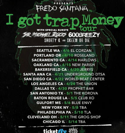 "Fredo Santana and Sir Michael Rocks announce ""I Got Trap Money"" Tour"