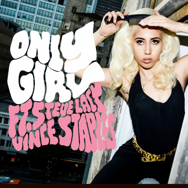 """Kali Uchis """"Only Girl"""" Ft. Steve Lacy and Vince Staples Prod. Kaytranada"""