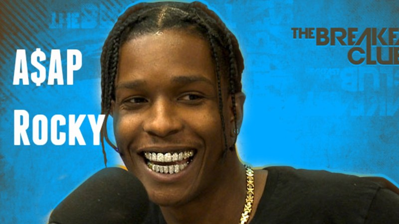 A$AP Rocky Clears Air About Insensitive Comments On The Breakfast Club