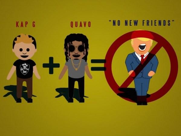 """KAP G x Quavo """"No New Friends"""" Prod. @PoloBoyShawty & @WhoIsDeeMoney"""