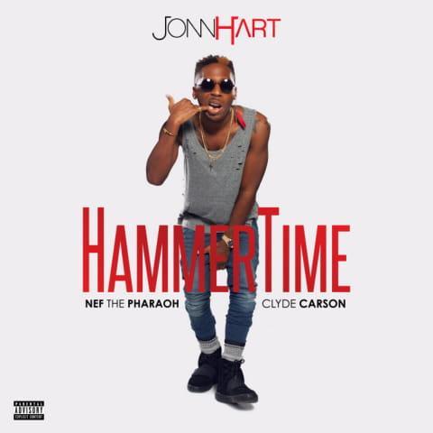 """Jonn Hart – """"HammerTime"""" feat. Nef The Pharaoh & Clyde Carson"""