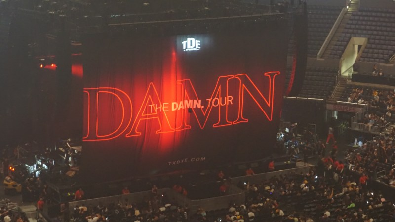 Kendrick Lamar The DAMN. Tour